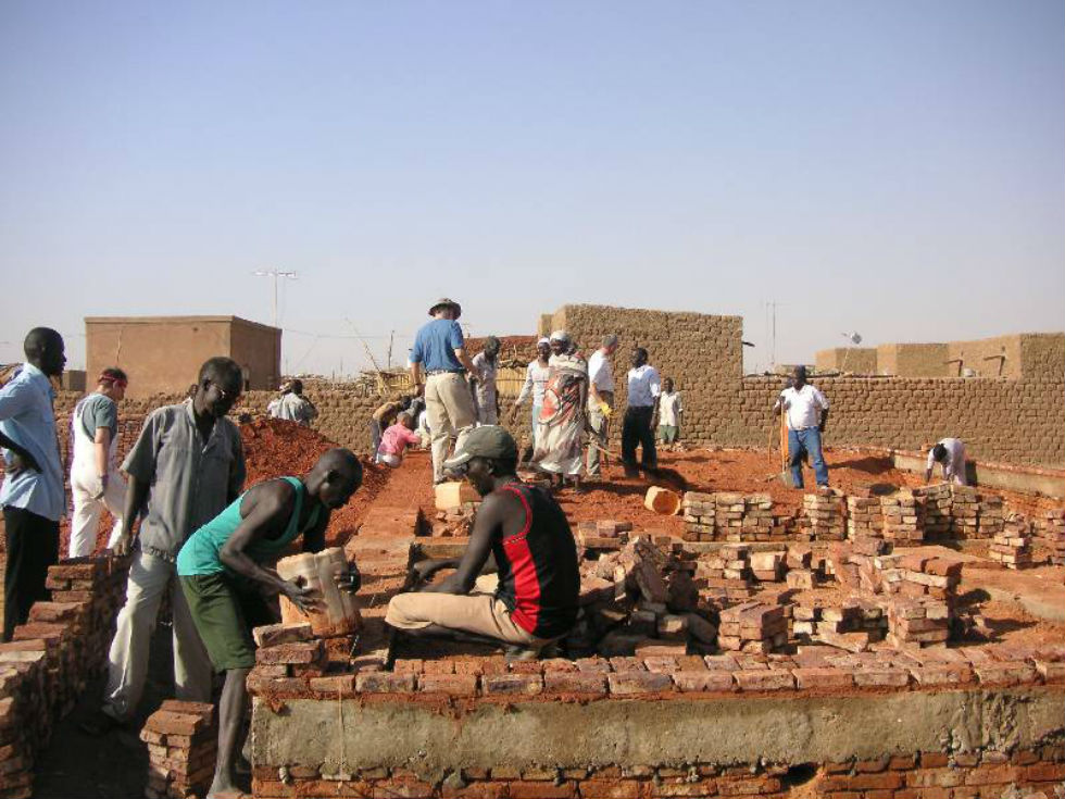 Building Church in Khartoum