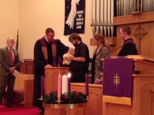Creekpaum baptism