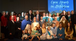 "The cast of ""Open Hearts in Bethlehem"""