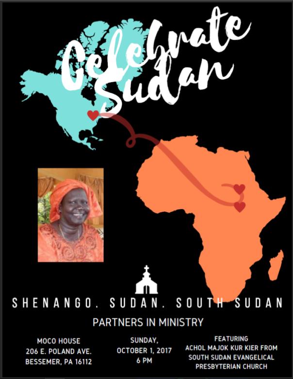 Celebrate Sudan flyer